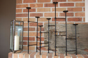 Black Metal Candle Stand