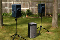 pa/dj sound system for rent weddings, office partys etc
