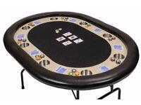 Poker table free standing
