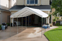 DIY event tent rental.  $150/ 4 day max