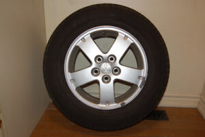 4 ROADSHINE WINTER TIRES ( on rims)  $450 – AJAX