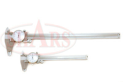 6 12 Stainless Steel 4 Way Dial Caliper Shock Proof