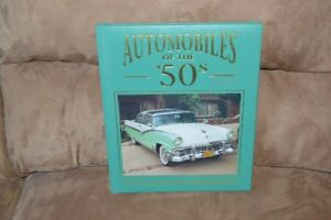 Automobiles Of The 50's (hardcover)