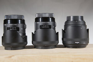 Sigma Lenses for Canon - Portrait Trinity