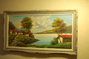 Real oil paintings moving sale !
