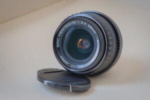 Pentax-M SMC 28mm f/3.5 with Nikon adapter