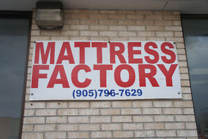 HUGE MATTRESS SALE IN BRAMPTON BUY DIRECT FROM THE MANUFACTURER