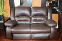 Leather Love Seat (2 avail) Highest Quality