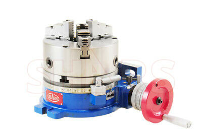 Shars 6 Horizontal And Vertical Rotary Table W6 3 Jaw Self Centering Chuck R