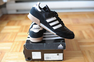 NEW ADIDAS SHOES INDOOR (GENUINE LEATHER),SIZE US 11 West Island Greater Montréal image 1
