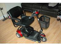 Go-Go Elite Traveller 3 wheel Mobility Scooter - foldable.
