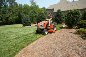 We have just what you need for a new Lawn Tractor or Zero-Turn!