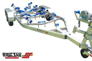 Swiftco 6.9 Metre Boat Trailer (3000kg) buy from $8.81 per day Molendinar Gold Coast City Preview