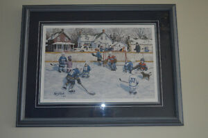 """J. Keirstead Limited Edition signed print """"Before the Game"""""""