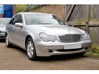 CHEAP Mercedes C Class 2.2 cdi March 2003 Leather Interior