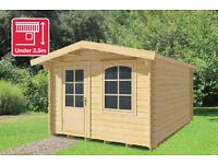 3m x 5m log cabin