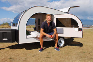 DROPLET - Awesome teardrop camping trailer - for rent -