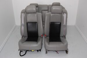 Custom Car or Truck BLACK LEATHER Bucket Seats Cadillac CTS