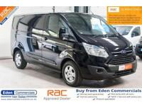 2015 15 FORD TRANSIT CUSTOM 2.2 270 LIMITED LR P/V 124 BHP *FINISHED IN STUNNING