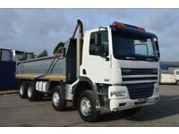DAF TRUCKS FADCF85.340 8x4 Manual Gearbox Steel Body Tipper