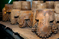 Buy used TCI, PDC drill bits and scrap tungsten metals-CASH