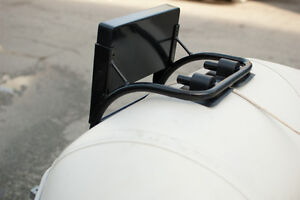 Motor bracket, outboard mount for inflatable boat North Shore Greater Vancouver Area image 2