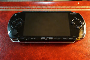 PSP with Games, Case, and Charger Cornwall Ontario image 1