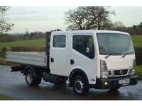 2017/17 Nissan NT400 Cabstar Double Cab Dropside 3.0dCi 35.13*ONE OWNER* 56,000M
