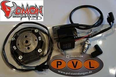 PVL Zündung 3° Sachs GT 3-Gang Kreidler Rennzündung Mofa Selettra HPI AM 6 P6
