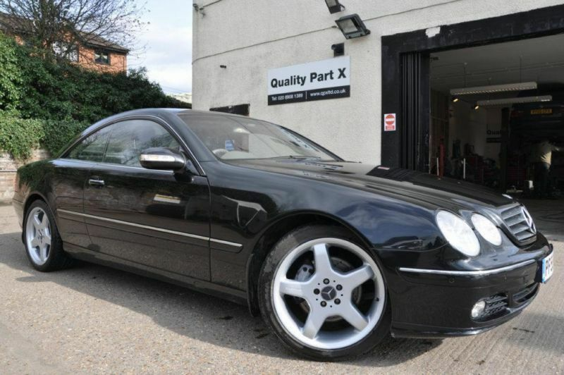2006 mercedes benz cl 5 0 cl500 2dr in wembley london for 2006 mercedes benz cl500