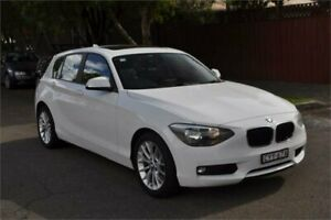 2015 BMW 118i F20 MY15 White 8 Speed Automatic Hatchback Leichhardt Leichhardt Area Preview