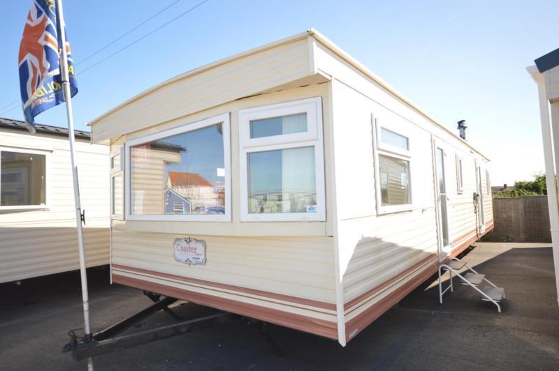 Static Caravan Isle of Sheppey Kent 2 Bedrooms 6 Berth Cosalt Coaster 2002 Harts