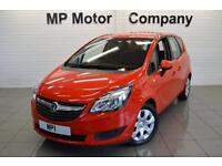 2015/15-VAUXHALL MERIVA 1.4I 16V TURBO ( 120PS ) AUTO EXCLUSIV 6SP 5DR MPV, RED