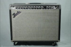 SOLD!!! - Fender Twin Amp Evil Twin