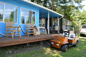 Recreation Property - Trailer/cabin with Addition & Bunk House