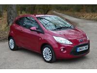 2009 FORD KA 1.2 Zetec 3dr ONLY 16,000 MILES GBP30 TAX