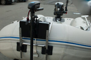Motor bracket, outboard mount for inflatable boat North Shore Greater Vancouver Area image 5