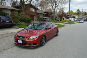 2012 Honda Civic Si Coupe (2 door)