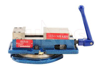 Shars 5 X 4.92 Lockdown Cnc Milling Machine Vise W Base Certificate New R