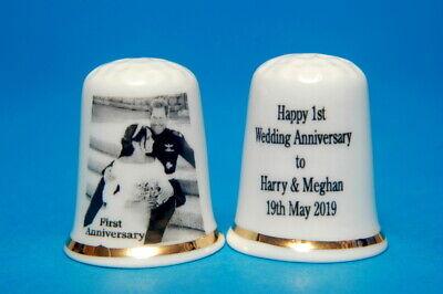 A Prince Harry & Meghan Happy 1st Aniversario Bodas 19th Puede 2019B/37