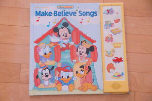 Brand New Disney Baby Interactive Book with Sound Buttons