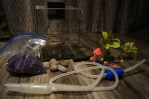 Fluval Chi Fish Tank and Accessories