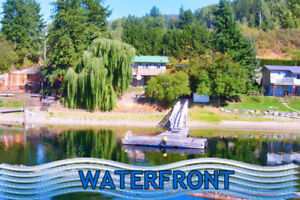Affordable Adams Lake waterfront cottage!