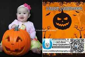 """U Red Deer Photography-Halloween photo for kids""""Have a fun"""""""
