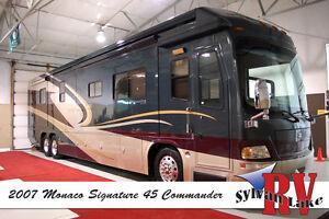 2007 Monaco Signature 45 Commander – Take Command of Your Life!