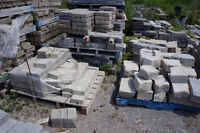Interlocking brick, patio slabs and natural stones for sale