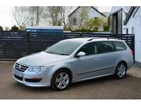 2010 VW PASSAT R LINE ESTATE 2.0TDI 140 6 SPEED FSH TBELT CHANGED 320D A4