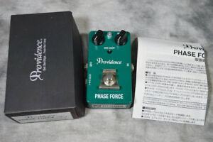 Like New Providence Phase Force PHF-1 Fuzz Pedal + Box+ Manual