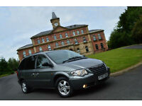 2007 Chrysler Grand Voyager 2.8CRD auto Executive+2 LADY OWNERS+LOW MILEAGE+FSH+