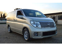FRESH IMPORT LATE 2004 FACE LIFT NISSAN ELGRAND V6 AUTOMATIC 4WD VG EXECUTIVE